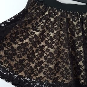 Atmosphere Skirts - Lace detail plus size midi swing skirt US size 14